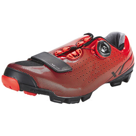Shimano SH-XC7R Shoes red/black